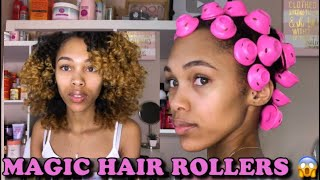MAGIC HAIR ROLLERS | NEVER USE A PERM ROD AGAIN!!!