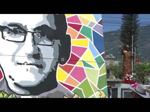 """""""Romero vive en el pueblo"""" así fue denominada la peregrinación a 39 años de su martirio"""