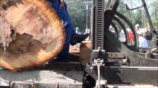 Nittany Tractor Show Sawing Lumber Sept. 7, 2012