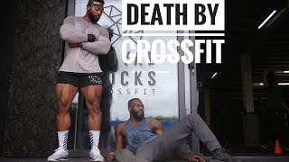 FITNESS YOUTUBER TRIES CROSSFIT FOR THE FIRST TIME!!