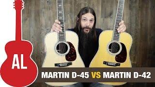 Martin D-45 vs D-42 Guitar Shootout!