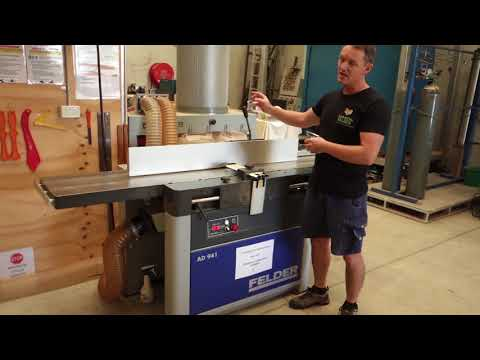 Damion Fauser reviews the Felder AD941 planer thicknesser