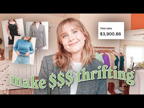 how to start an online vintage store   make money selling vintage clothing in 2021