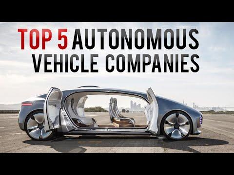 Guida autonoma: le 5 migliori società
