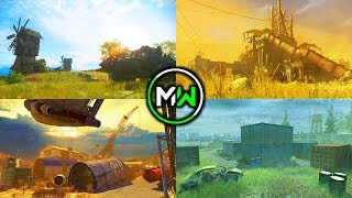 MODERN WARFARE NEW MAPS! (FREE) 10+ DLC MAPS RUST, SHIPMENT, FARMS + MORE! NEW DLC MAPS COD MW!