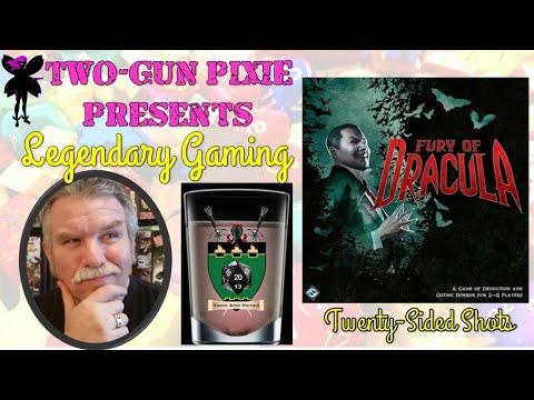 Twenty-Sided Shots 021 - Fury of Dracula (3e) by Fantasy Flight Games