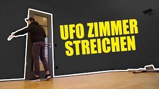 MEIN UFO ZIMMER STREICHEN!