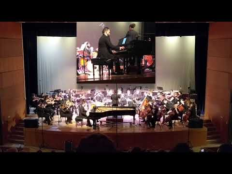 N. Kapustin's Piano Concerto No. 2   Performed by Charles Fernandes w/ Cleveland State University Symphony Orchestra
