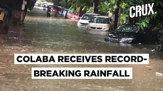 IMD Warns Moderate To Heavy Rainfall In Waterlogged Mumbai - Download this Video in MP3, M4A, WEBM, MP4, 3GP