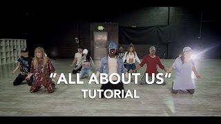 Jordan Fisher - All About Us   Dance Tutorial   WilldaBEAST Adams
