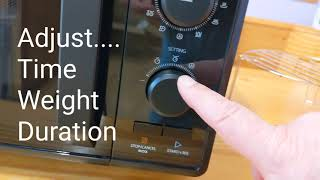 TOSHIBA. MW2-AG23PF. Microwave grill unboxing and mini review