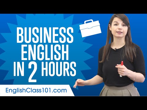 Download Learn English Business Language in 2 Hours Mp4 HD Video and MP3