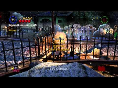 Lego Batman Walkthrough - Zoos Company Free Play (1 of 2 ...