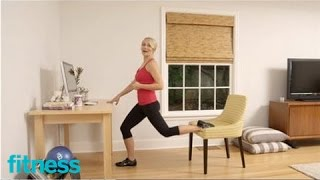 The 5 Minute Desk Workout | Fitness by FITNESS Magazine