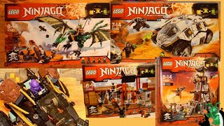LEGO Ninjago 2016 Summer sets pictures - My Thoughts!
