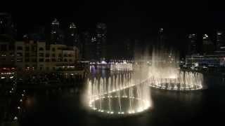 Танцующие фонтаны в Дубае (ОАЭ)
