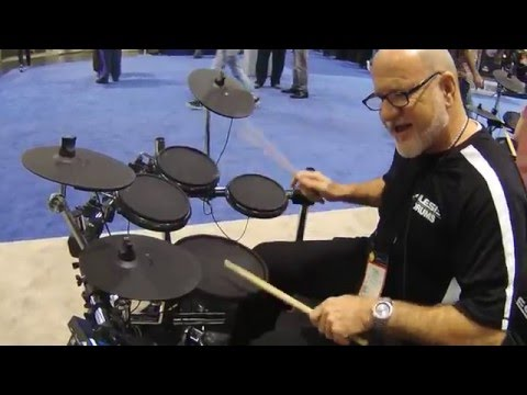 NAMM 2016 Alesis Forge Kit Electronic Drum Set