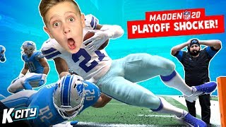 Playoffs Shocker! Madden NFL 20 Franchise Part 17! K-CITY GAMING
