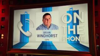 ESPN NBA Reporter Brian Windhorst on Lakers Cleaning House - 2/21/17