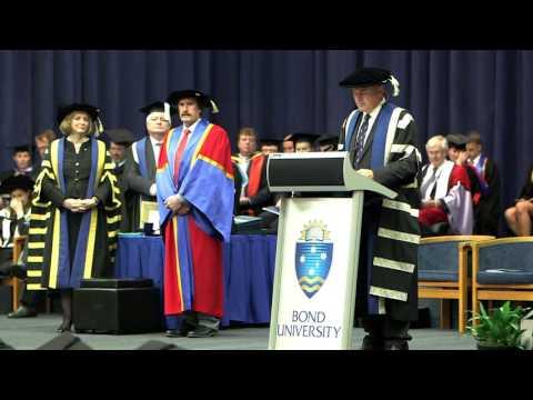 Bond University Graduation Ceremony February 2016 - FSD, Law