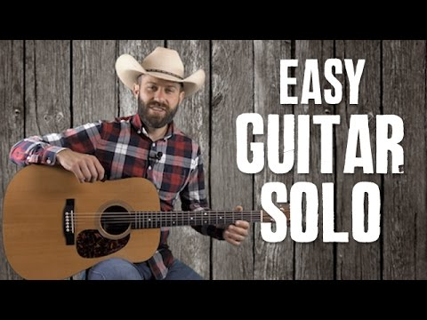 Easy Guitar Solo for Wabash Cannonball - Guitar Lesson