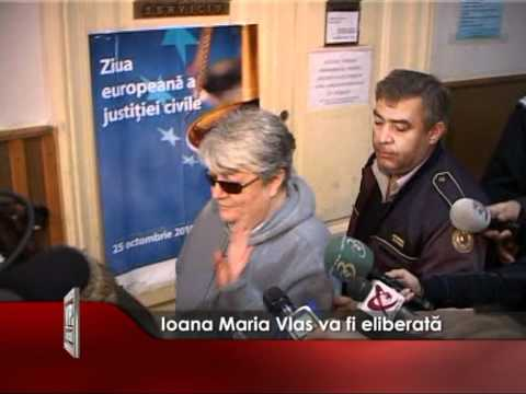 Ioana Maria Vlas va fi eliberata
