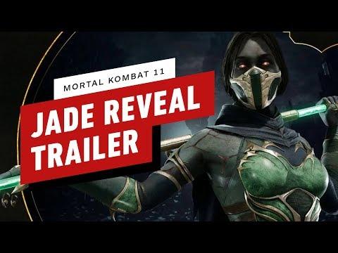 ElecCafe Mortal Kombat 11 - Jade Gameplay Reveal Trailer - http