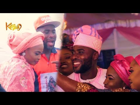 Ibrahim Chatta's beautiful wife shows him support at movie premiere{Nigerian Entertainment}
