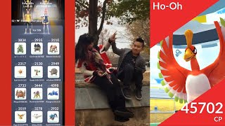 Mother & son 12 unique Ho-oh duo and his 50k catch!! #ProudMama