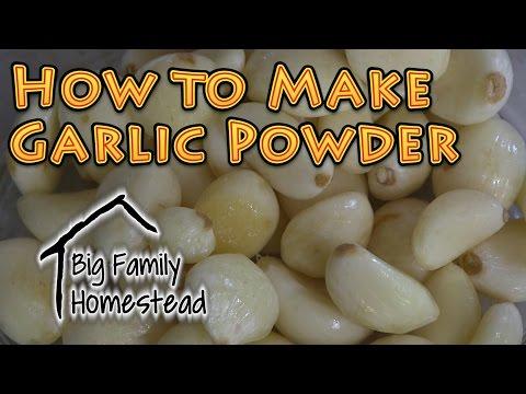 , title : 'How to Make Garlic Powder AT Home
