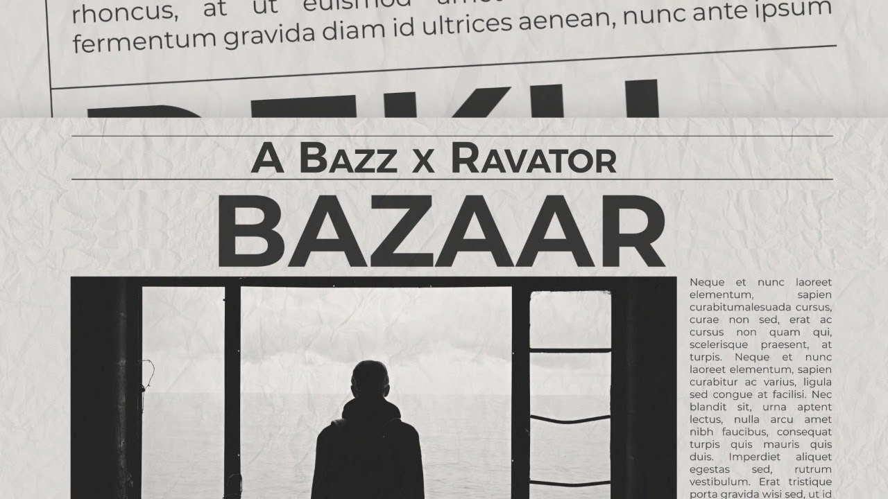 Bazaar Lyrics - Aabhaas Anand(A-bazz)