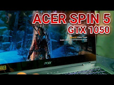 NEW BREED OF THIN GAMING LAPTOP? – Acer Spin 5 With GTX 1050 Review
