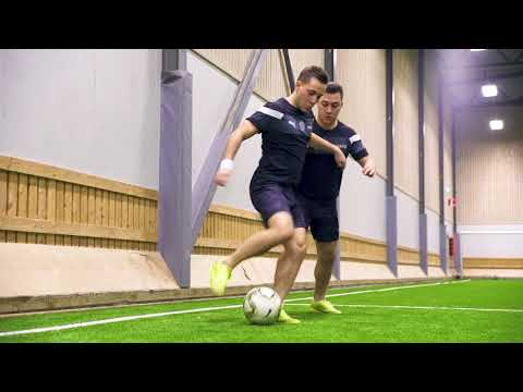 Learn This Effective Skill To Trick Your Defender! ★ SkillTwins Tutorial