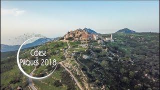 Vidéo de haute Corse vue du ciel