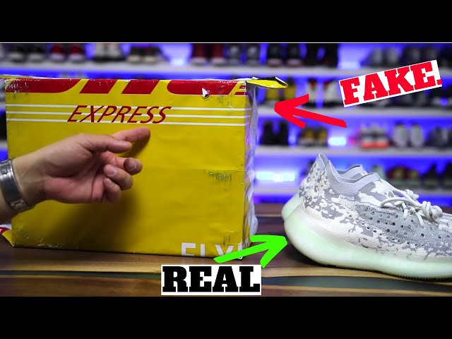 I BOUGHT The MOST EXPENSIVE REPLICA adidas YEEZY BOOST 380 ALIEN, THIS Is What I Got..