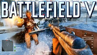 Battlefield 5: Multiplayer Gameplay on Grand Operations
