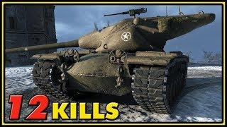 T57 Heavy - 12 Kills - World of Tanks Gameplay