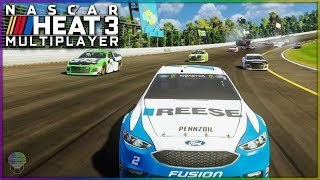 Bad Luck, Crashes, and CORE Vietnam Flashbacks   Multiplayer   NASCAR Heat 3