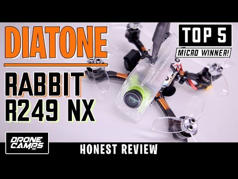 diatone-rabbit-r249-nx--5-star-quad--honest-review--flights