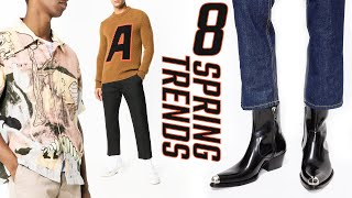 TOP 8 SPRING 2019 Fashion Trends Every Guy Needs // Mens Spring Summer Outfit Ideas