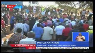 KTNLeo: Alfred Mutua ajipata matatani alipojaribu kufungua afisi za vuguvugu la mashinani Chapchap k