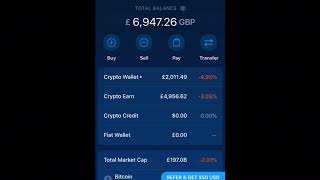 Crypto.com app withdrawal tutorial