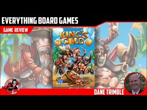 Everything Board Games King's Gold Review