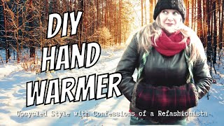 The DIY Hand Warmer: A Cozy Hand Muff Tutorial