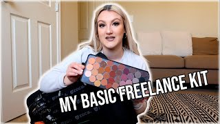 What I Carry In My KIT As A FREELANCE MAKEUP ARTIST - KIT BASICS And TIPS I Loren Goldman