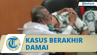 Video Momen Kakek Koswara Peluk Deden, Kasus Anak Gugat Ayah Rp3 Miliar di Bandung Berakhir Damai