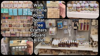 Dollar Tree Crafters Square Items / Shop With Me / Haul / 🌟 NEW FINDS 🌟 / NEW ITEMS / Must See 💕