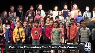 Columbia Elementary 2nd Grade Choir Concert - 3-7-19