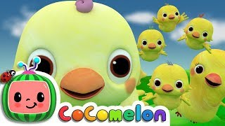 Five Little Birds 2  | Cocomelon (ABCkidTV) Nursery Rhymes & Kids Songs