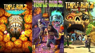 Temple Run 2 Spirits Cove VS Temple Run 2 Pirate Cove vs Temple Run 2 Spooky Summit